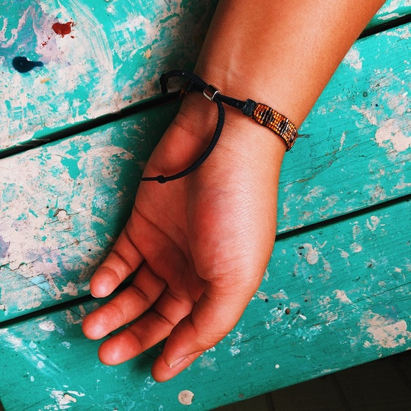 Urban Outfitters Jewelry - URBAN OUTFITTERS | Beaded Adjustable Bracelet